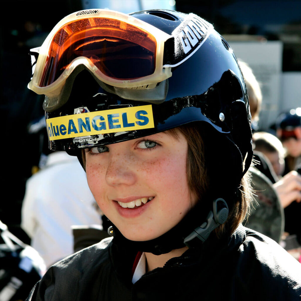 Creating Smiles on the Slopes! The Blue Angels Youth Ski & Snowboard Program: 2017 Camp Coming Soon!