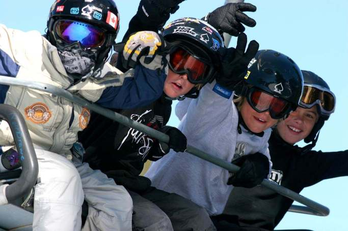Skiing and Snowboarding Camp for Kids. Check Us Out! #GOSNOW #BlueAngelSnow