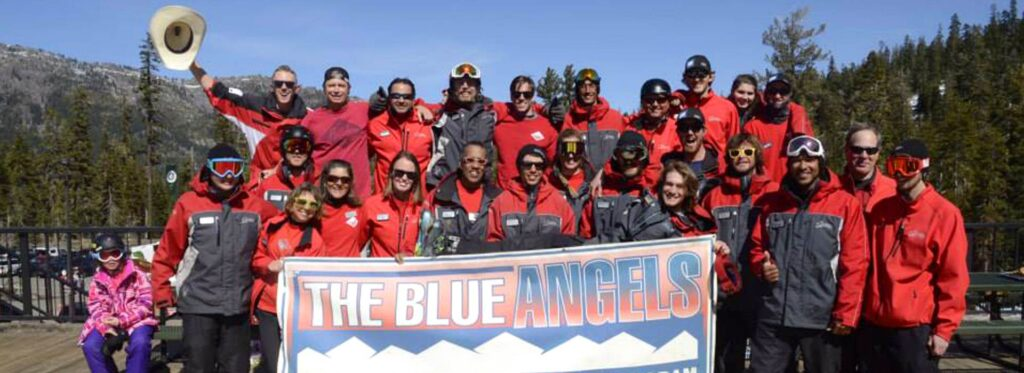 Sierra At Tahoe Ski and Snowboard Instructors love Blue Angel Snow
