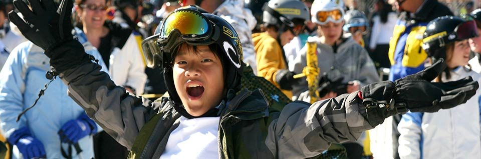 Blue Angel Snow is the Best Ski and Snowboard Program for Children and Teens in California