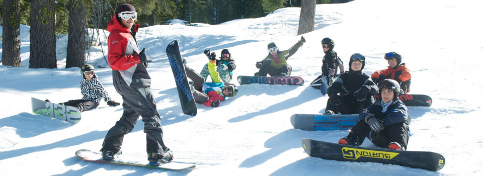 Blue Angel Snowboard Camp for Kids at Sierra-at-Tahoe